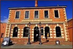 HOBART GASWORKS (like jazz) Tags: blue history nikon north bluesky historicbuilding 14mm tasmaniaaustralia nikond90 gasworkshobarttasmaniaaustralia tokina1116mmf28prodlens14mm