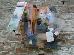 727  ( 2013 ) , bois, plexy, acier, nylon, cuivre, peinture. (emmanuelviard75) Tags: mobile extrieur bois plexy