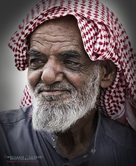 Old Man (Abdulaziz N Alotaibi) Tags: old white man black blackwhite oldman