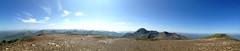Bring Me Sunshine (RoystonVasey) Tags: blue sky panorama mountain apple sunshine landscape scotland 5 glen explore nevis iphone aonach mamores beag