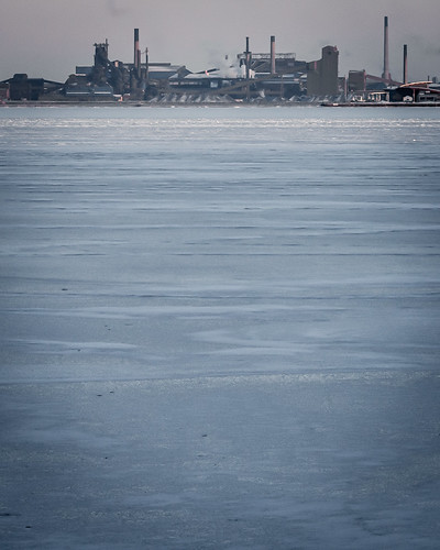 Hamilton Harbour - Steel and Ice