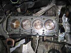 Head Gasket (davismachine) Tags: car shop jasper head engine machine indy automotive engines heads cylinder gasket brodix