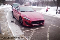 Maserati Gran Tourismo (OutOfTheShoeBox) Tags: michigan gran supercar maserati tourismo uploaded:by=flickrmobile flickriosapp:filter=nofilter