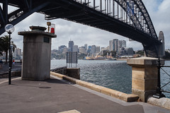 JA_20140212_0073.jpg (sadetutka) Tags: bridge traffic harbour steel sydney australia circularquay newsouthwales sydneyharbour sydneyharbourbridge archbridge thecoathanger