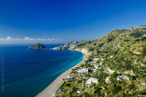 Verde e Blu - La spiaggia dei maronti, Isola d'Ischia