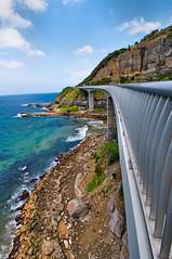Seacliff Bridge (evangelique) Tags: ocean bridge beach high rocks seacliff nsw tall railing southcoast coalcliff