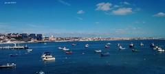 Cascais (EdoardoCiervo) Tags: sea panorama portugal mare ship harbour lisboa barche porto cascais bellezza lisbona portogallo beutifull pescherecci