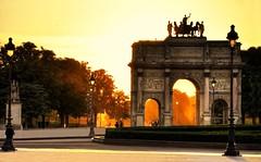 Light throught the arch (Sizun Eye) Tags: light france garden triumphalarch tuileries jardindestuileries paris1er arcdetriompheducaroussel blinkagain