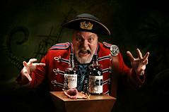 Black Rum Games (Studio d'Xavier) Tags: pirate rum 365 captainmorgan kraken 365days explored strobist werehere ilo