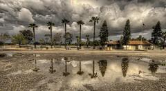 Storm over Goathill Jct. (murraycdm) Tags: costamesa railroad goathill orangecounty reflection clouds hdr photomatix nikon d7000 1024mm murraycdm ronanmurray
