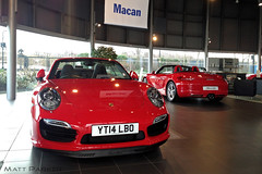 Red (MJParker1804) Tags: new red 14 911 plate convertible turbo porsche guards boxster cabriolet 991 2014 981