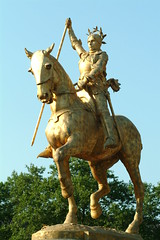DSCF0420 Philadelphia Artwork Joan of Arc (photographer695) Tags: philadelphia french artwork arc joan jeanne darc joanofarc