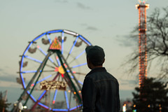 apocalypse (Kacey_Oesterreich) Tags: carnival portrait green love beautiful hat wheel contrast scary different jean zombie awesome apocalypse tint ferris it creepy adventure jacket horror zombies adventurous