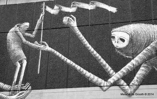 Graffiti Exhibition at Southbank 6