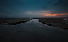 Borkum, morgens im Watt (otto.hitzegrad) Tags: insel nordsee sonnenaufgang watt morgens borkum wattenmeer naturschutz nordseeinsel