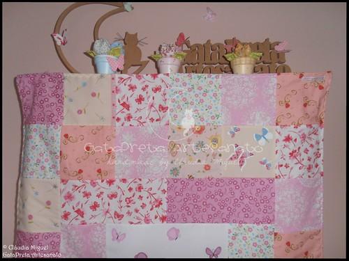 Colcha cama de grades Blooming Fairies II-2