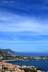French Riviera (Kataaku) Tags: city blue wild costa mer seascape france nature azul french landscape photo reflex nice nikon riviera photographie caroline bleu cote paysage villefranche dazur mditerrane naturel catenacci azurra d5200 kataku kataaku