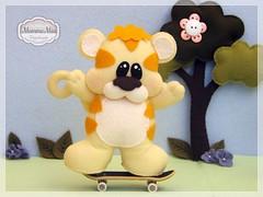 Tobias (Mamma Mia Handmade) Tags: toys felt safari infantil feltro em enfeite