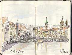Zurich, Switzerland (Rui Grilo) Tags: urbansketch urbansketchers