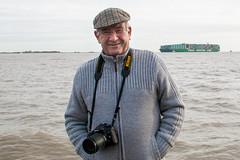John Cox, my good friend, fellow photographer and fan of all things nautical! (mariafowler.co.uk) Tags: john globe cox cscl