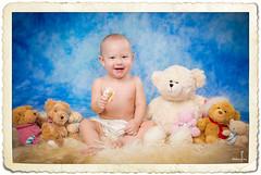 (MissSmile) Tags: blue baby color childhood studio toys kid toddler child teddy sweet memories vivid cutie adorbale misssmile