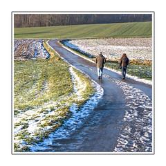 01 01 2015 (Jean G68) Tags: hiver champs promenade dedos neige chemin balade prs ballersdorf