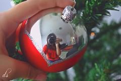 Jingle Bells (danielashalev) Tags: christmas new winter red tree home bells happy mirror year cannon jingle selfie