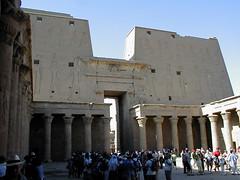 P1010023 (bentchristensen14) Tags: temple egypt horus column edfu