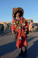 Waterseller 1 Jemaa el-Fna, Marrakech (off2africa) Tags: morocco marrakech medina marrakesh waterseller jemaaelfnaa