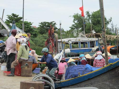 Port de pêche, Vietnam