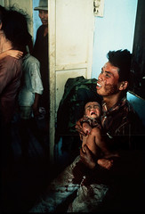 Fall of Saigon 1975 (manhhai) Tags: camp rescue hospital blood war ship child south wounded crying captured agony full vietnam communist conflict soldiers helicopters length injured civilians
