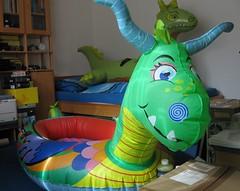 Intex Dragon Boat (Arambajk) Tags: pool up toy blow collection inflatable float blowup inflatables drak pooltoy hraka nafukovac
