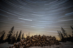 Gotta love the trails? (Leksa87) Tags: sky night canon landscape eos star trails startrails 6d