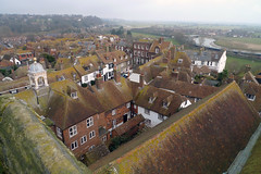 Rooftops, Rye (Tony Buckley) Tags: tower church rooftops rye
