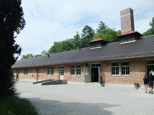 The gas chambers - Dachau Memorial site (K-Z Gedenstatte Dachau), Germany