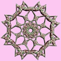 8 Tori / 8つの輪環 (TANAKA Juuyoh (田中十洋)) Tags: torus 輪環 りんかん ドーナツ どーなつ mathematica 3d cg parametricplot3d texture code program algorithm abstruct graphic design pattern structure mapping figure プログラム コード アルゴリズム テクスチャ マッピング 模様 もよう 抽象 ちゅうしょう アブストラクト グラフィック グラフィクス パターン デザイン 意匠 いしょう 構造 こうぞう 図形 ずけい symmetry 対称性 たいしょうせい シンメトリー 対称 たいしょう