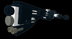 Assault Frigate Uvunjaji (wray20641) Tags: toy toys lego space micro spaceship frigate moc microscale