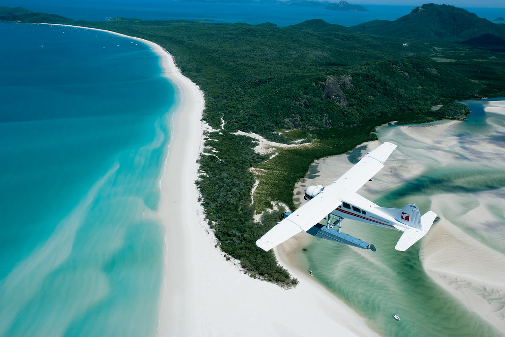 Seaplane over Whitehaven - Queensland.jp by Traveloscopy, on Flickr