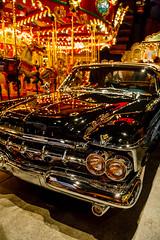 Black Imperial (Raoul Pop) Tags: cars beautiful car vintage us unitedstates florida antique transport carousel headlights chrome imperial chrysler southflorida