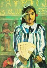 Mehari metua no Teha'amana : Les Ancêtres de Teha'amana (P Gauguin)