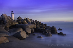 Santa Cruz Yacht Harbor Sunset (soquel girl) Tags: santacruz lighthouse yachtharbor ndfilters lighthousesantacruz bigstopper