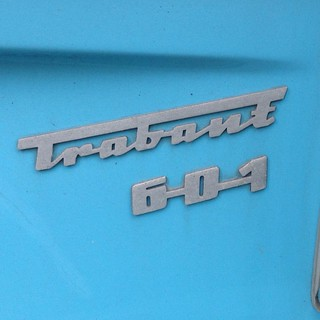 Trabant 601 #chromeography #typography #type Putten
