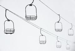 Summit County Swing Set (JonPac) Tags: winter snow ski mountains colorado lift transport skiresort skilift snowboard blizzard summitcounty arapahoebasin 2015 jonpaciaroni