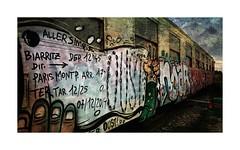 Srie du 22 08 15 : Ste (basse def) Tags: france sete trains tags languedoc wagons graffitis