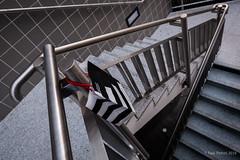 Lines. La Dfense (Paul Perton) Tags: street urban paris france fuji streetphotography staircase ladfense xpro2 fuji16mmf14
