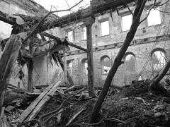 Marstall Dwasieden (Manuela Vierke) Tags: germany deutschland town insel ruine stadt architektur rgen isle mrz mecklenburgvorpommern 2016 sassnitz marstall lostplace meckpomm sasnitz dwasieden