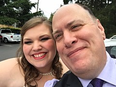 Day 1609 - Day 149: Best. Selfie. Ever. (knoopie) Tags: 2016 may iphone picturemail wedding reception kayla family pinelakecommunitycenter pinelake sammamish kaylaandchris2016 knoopapalooza doug knoop knoopie me selfportrait 366days 366daysyear5 year5 365more day1609 day149