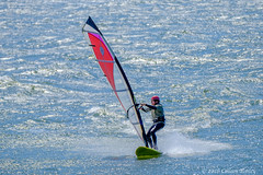 Wind Surfing the Columbia River (Colleen Easley) Tags: kite water oregon river washington sail windsurfing columbiagorge