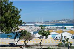 Tangier port (mhobl) Tags: port morocco maroc tangier tanger habour tanja sailingboat windstarcruises marokko201516
