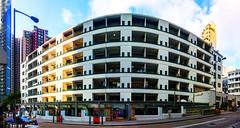 PMQ (Kai-Ming :-))) Tags: blue light sky panorama cloud sunlight building art window architecture hongkong streetlight outdoor sony creative entrance exhibition trail 100 effect hdr stauntonstreet pmq kaiming drsunyatsenhistoricaltrail kmwhk redexhibitionpanel